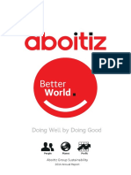 Aboitiz Better World 2014 Annual Report
