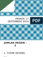 Parade 17 September 2016
