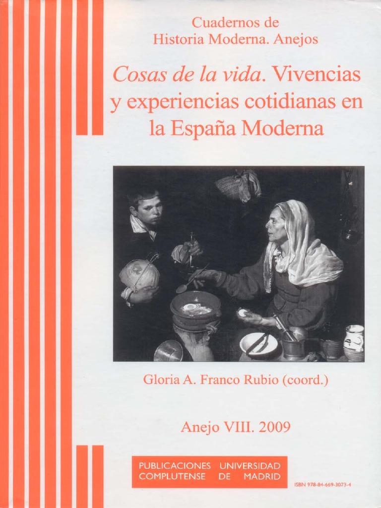 RUBIO, G a F (Org) (2009) Cosas de La Vida - Vivencias y ...