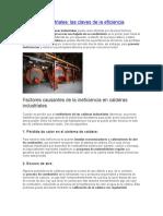 Calderas Industriales Claves