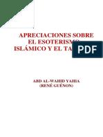 Esoter. Islámico y Taoísmo-A.W.Y.