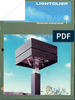 Lightolier AOL - Sharp Cutoff Luminaires Brochure 1985