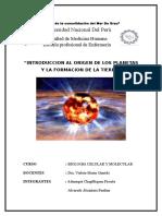 Clase 1-Origen de Los Planetas y Formacion de La Tierra