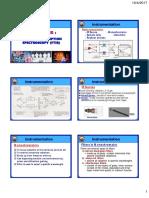 Analytical Chemistry Jan 2017 - Chapter 4B (FTIR)