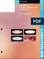 Lightolier Calculite CFL Downlighting Catalog 1999