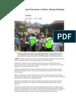 Berita Pencemaran Lingkungan (Tugas AMDAL)