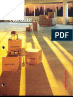 Lightolier Calculite Downlighting Catalog 1990