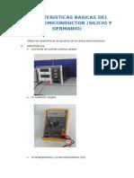 Caracteristicas Basicas Del Diodo Semiconductor