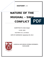 History I - Mughal Sikh Conflict