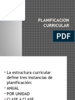 Planificacion Curricular Ppt 2017