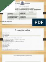 Assignment Presentation