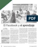 El Facebook y El Aprendizaje