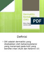 Dermatitis Kontak Iritan (DKI)