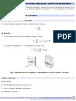 Fórmulas Empíricas Para Calcular Carga de ExplosivoPRUEBA