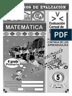 Matemática v - 4ª Grado