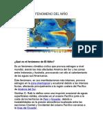 Ecologia Fenomeno Del Niño