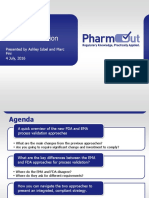 2015 GMP Validation Forum D1.T4.2.2 EMA and FDA Approaches to Process Validation