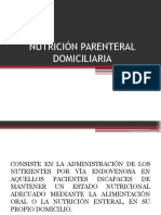 Nutricion Parenteral Domiciliaria