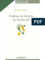 Collins Randall Cadenas de Rituales de Interaccion Con Marcas