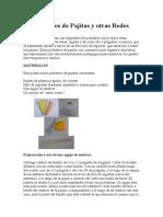 Poliedros de Pajitas y Otras Redes