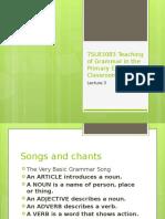 TSLB3083 Teaching of Grammar in the Primary ESL L3