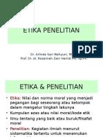 Etika Penelitian .ppt