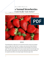 organicvsnormalstrawberries