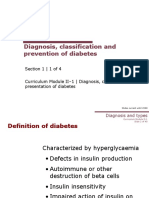 1_1 Diagnosis, Classification and Prevention