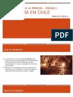 Unidad 1.1 La Mineria en Chile