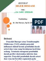 Referat Buerger Disease