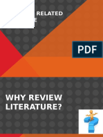 RESEARCH PAPER - Review of Related Literature (Reporting)