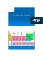 Paragenesis Mineral