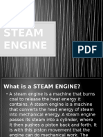 Grade 9 Physics - Steam Engine (Reporting)