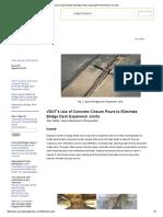 Improving Durability of Bridge Decks Using High Performance Concrete