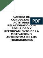 AUTOESTIMA Y SEGURIDAD LABORAL