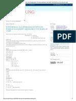 CONTOH SOAL DAN PEMBAHASAN...DAN DERET ARITMATIKA UNTUK KELAS 9 SMP.pdf