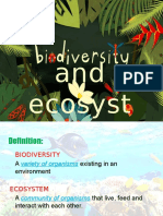 Grd 10 3rd Quarter BIOLOGY - Biodiveristy Report