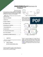 Informe Electrónica de Potencia