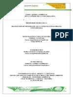 Preinformes Practicas Quimica Ambeintal