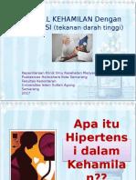 Penyuluhan Hipertensi kehamilan