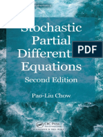 (Advances in Applied Mathematics) Chow, Pao Liu-Stochastic Partial Differential Equations-CRC Press (2014)