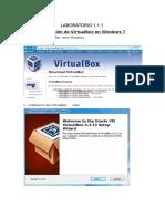 Instalacion de Virtual Box y Centos 6