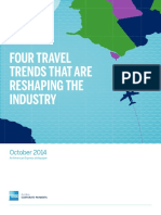 Amex AXP Travel Industry Four Travel Trends That Are Reshaping the Industry Whitepaper