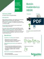 Boton Inalambrico Xb5r Baja, pulsador- interruptor inhalambrico