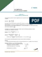 Matematica 2 Medio AGOSTO