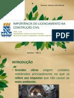Aula 8 - Licenciamento Na Construção Civil