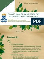 Aula 7 - Quadro Legal Do Licenciamento No Brasil.