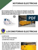 LOCOMOTORAS ELECTRICAS