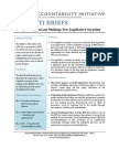 Rti Brief No. 4 - Pre - Legislative Scrutiny Draft Final - Accountability India