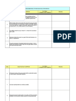 NFPA 33 Paint Booth Check Sheet